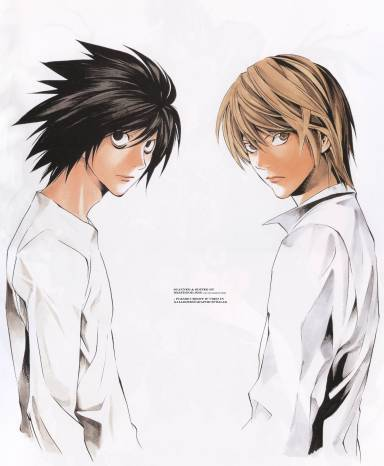 light death note l