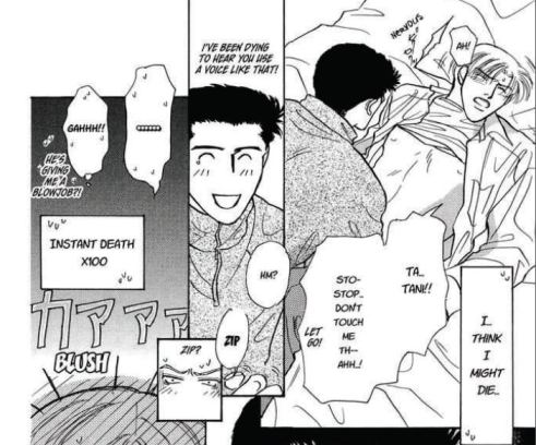 Heterosexual manga